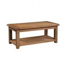Somerville Light Oak Waxed Large Coffee Table