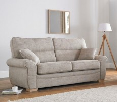 Milan 3 Seater Sofa Bed (available in a wide range of fabrics)