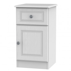 Pembroke 1 Door Bedside Locker (available in a choice of 5 Finishes)