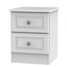 Pembroke 2 Drawer Bedside Locker (available in a choice of 5 Finishes)