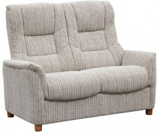 Derwent Chenille Fabric 2 Seater Sofa in Wheat