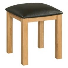 Siento Light Oak Dressing Table Stool