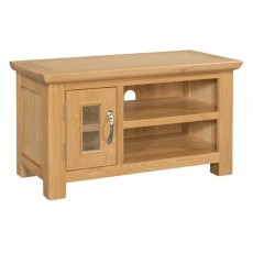Siento Light Oak Small TV Unit