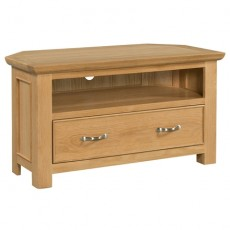 Siento Light Oak Corner TV Unit