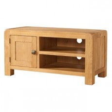 Avondale Waxed Oak Standard TV Unit