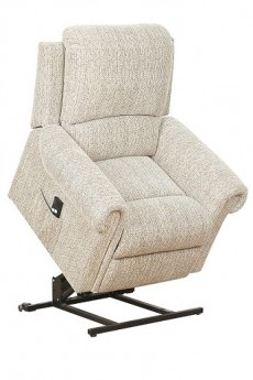 Belford Single Motor Rise and Recline Electric Armchair in Mocha