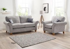 Vegas 2 Seater Sofa in a choice of fabrics