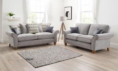 Vegas 3 Seater Sofa in a choice of fabrics
