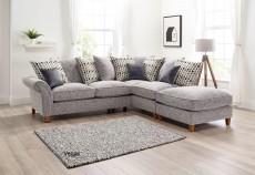 Vegas Large Corner Sofa in a choice of fabrics