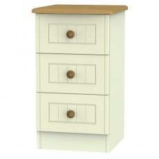 Arlington 3 Drawer Bedside Locker (available in 5 colour finishes)