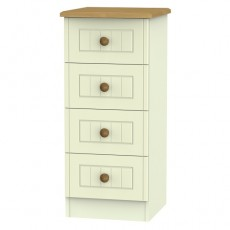 Arlington 4 Drawer Bedside Locker (available in 5 colour finishes)