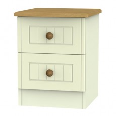 Arlington 2 Drawer Bedside Locker (available in 5 colour finishes)