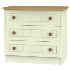 Arlington 3 Drawer Chest (available in 5 colour finishes)