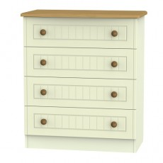 Arlington 4 Drawer Chest (available in 5 colour finishes)