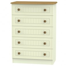 Arlington 5 Drawer Chest (available in 5 colour finishes)