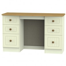 Arlington 6 Drawer Kneehole Dressing Table (available in 5 colour finishes)