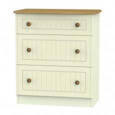 Arlington 3 Drawer Deep Chest (available in 5 colour finishes)