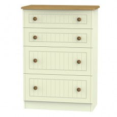 Arlington 4 Drawer Deep Chest (available in 5 colour finishes)