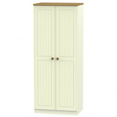 Arlington 2ft 6 Plain Wardrobe (available in 5 colour finishes)